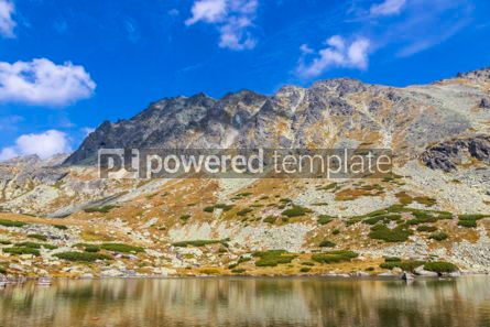 Nature: Hiking in High Tatras Mountains (Vysoke Tatry) Slovakia #02934