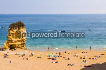 Nature: Praia da Dona Ana beach in Lagos Algarve region Portugal #02937