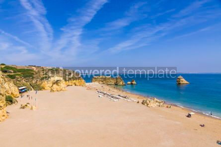 Nature: Praia da Dona Ana beach in Lagos Algarve region Portugal #02938