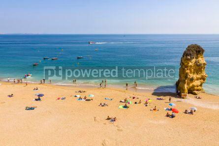 Nature: Praia da Dona Ana beach in Lagos Algarve region Portugal #02939