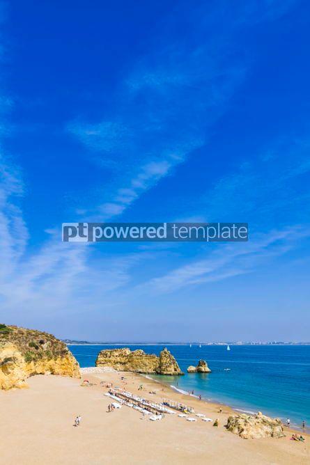 Nature: Praia da Dona Ana beach in Lagos Algarve region Portugal #02940