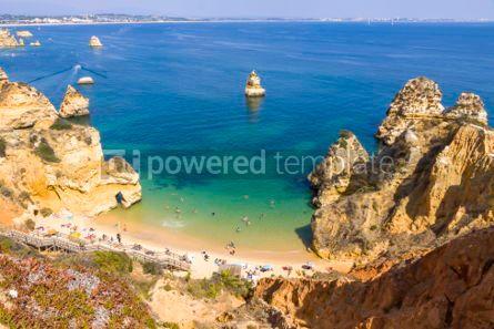 Nature: Praia do Camilo beach in Lagos Algarve region Portugal #02941