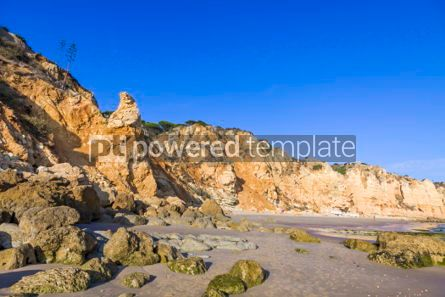 Nature: Praia do Porto de Mos beach in Lagos Algarve Portugal #02942