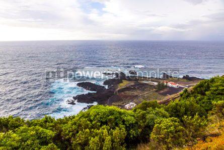 Nature: Ponta da Ferraria hot springs Sao Miguel island Azores Portug #02958