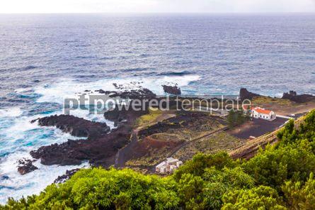 Nature: Ponta da Ferraria hot springs Sao Miguel island Azores Portug #02959