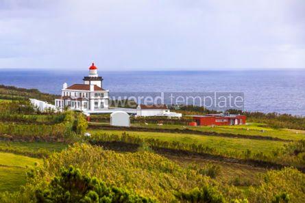 Nature: Ponta da Ferrarias lighthouse Sao Miguel island Azores Portug #02961