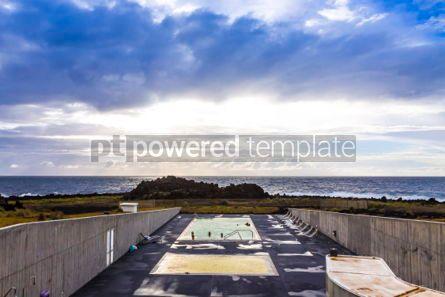 Nature: Ponta da Ferraria hot springs Sao Miguel island Azores Portug #02962