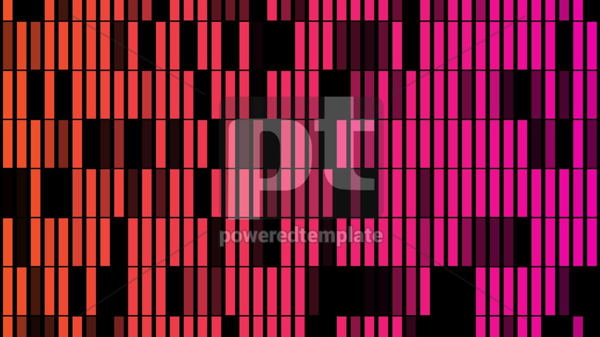Abstract background with animation of flicker particles, 02999, Abstract — PoweredTemplate.com