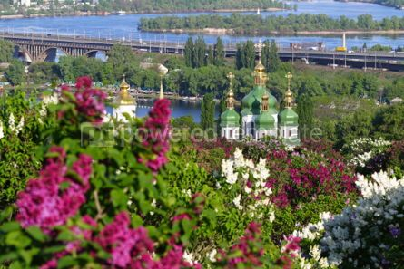 Nature: Picturesque spring view of Kyiv city Ukraine #03027