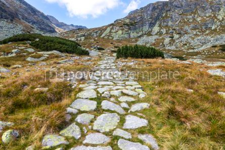 Nature: Hiking in High Tatras Mountains (Vysoke Tatry) Slovakia #03038