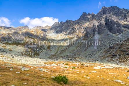 Nature: Hiking in High Tatras Mountains (Vysoke Tatry) Slovakia #03039
