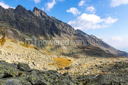 Nature: Hiking in High Tatras Mountains (Vysoke Tatry) Slovakia #03041