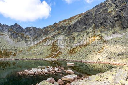 Nature: Hiking in High Tatras Mountains (Vysoke Tatry) Slovakia #03042