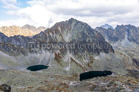 Nature: Hiking in High Tatras Mountains (Vysoke Tatry) Slovakia #03044