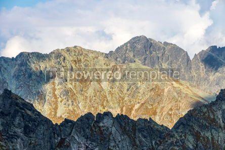 Nature: Hiking in High Tatras Mountains (Vysoke Tatry) Slovakia #03046
