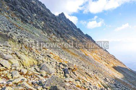 Nature: Hiking in High Tatras Mountains (Vysoke Tatry) Slovakia #03052