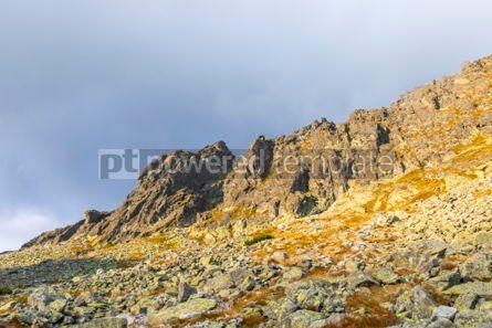 Nature: Hiking in High Tatras Mountains (Vysoke Tatry) Slovakia #03055