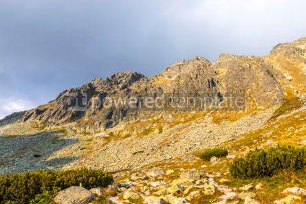 Nature: Hiking in High Tatras Mountains (Vysoke Tatry) Slovakia #03056