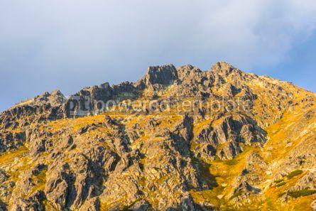 Nature: Hiking in High Tatras Mountains (Vysoke Tatry) Slovakia #03057