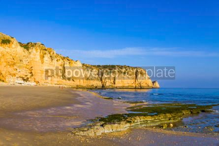 Nature: Praia do Porto de Mos beach in Lagos Algarve Portugal #03067