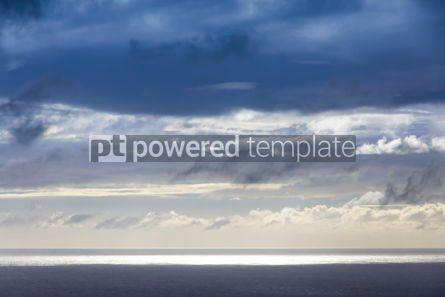 Nature: Dramatic sky over Atlantic Ocean coast near Sao Miguel Island A #03072