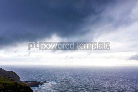 Nature: Dramatic sky over Atlantic Ocean coast near Sao Miguel Island A #03073