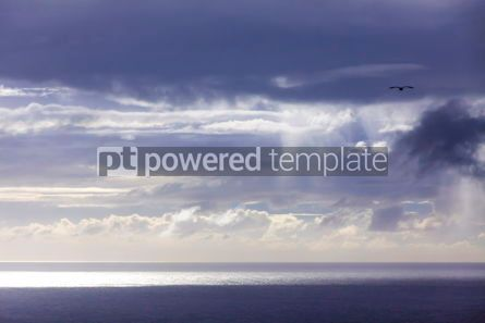 Nature: Dramatic sky over Atlantic Ocean coast near Sao Miguel Island A #03075