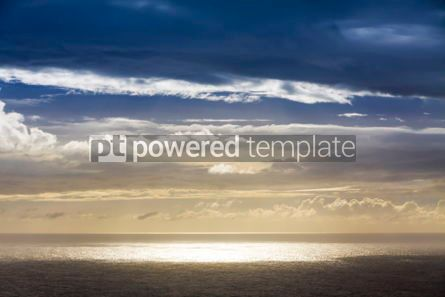 Nature: Dramatic sky over Atlantic Ocean coast Near Sao Miguel Island t #03079