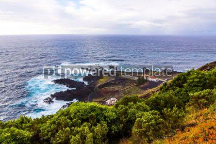 Nature: Ponta da Ferraria hot springs Sao Miguel island Azores Portug #03080