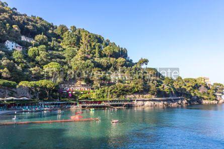 Nature: Beautiful view of the Bay of Paraggi in Santa Margherita Ligure #03084