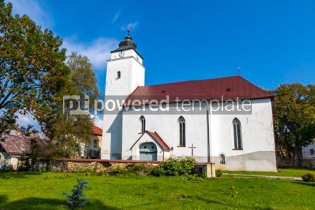 Architecture : Church of St.Andrew in Velky Slavkov village Slovakia #03100