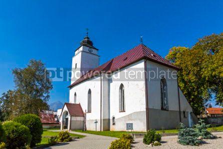 Architecture: Church of St.Andrew in Velky Slavkov Slovakia #03107