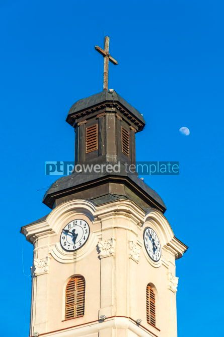 Architecture : Roman Catholic Church of St. George in Uzhhorod city Ukraine #03109