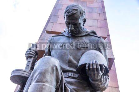 Architecture : Soviet War Memorial (Treptower Park) in Berlin Germany #03117