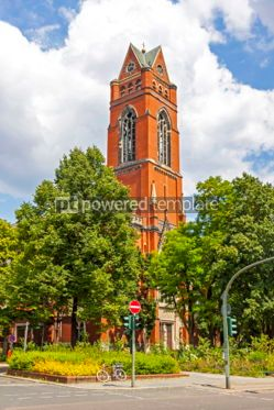 Architecture: Catholic church of St. Matthias in Berlin Germany #03122