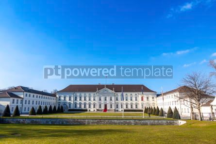 Architecture : Bellevue Palace (Schloss Bellevue) in Berlin Germany #03123