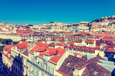 Architecture : 사진 - 리스본 구시 가지 포르투갈의 항공보기 #03134