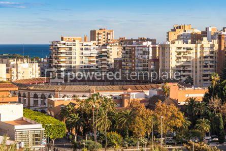 Architecture: Plaza de Toros de Malagueta bullring in Malaga Andalusia Spain #03151