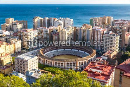 Architecture : Plaza de Toros de Malagueta bullring in Malaga Andalusia Spain #03153
