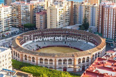 Architecture: Plaza de Toros de Malagueta bullring in Malaga Andalusia Spain #03155