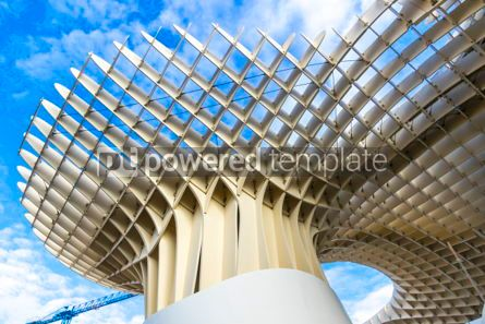 Architecture : Metropol Parasol wooden structure in Sevilla Andalusia Spain #03158