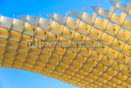 Architecture : Metropol Parasol wooden structure in Sevilla Andalusia Spain #03160