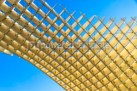Architecture : Metropol Parasol wooden structure in Sevilla Andalusia Spain #03161