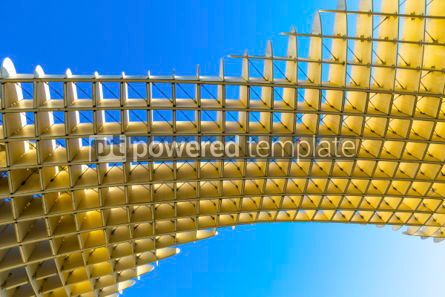 Architecture : Metropol Parasol wooden structure in Sevilla Andalusia Spain #03162