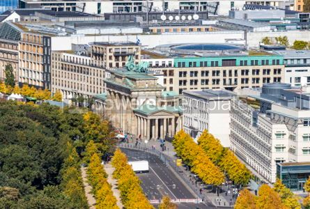Architecture : Brandenburger Tor (Brandenburg Gate). One of the famost landmark #03193