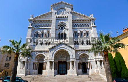 Architecture : Monaco Cathedral (Cathedrale de Monaco) in Monaco-Ville Monaco #03199