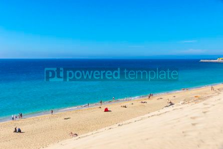 Nature: Morro Jable beach Fuerteventura island Canary Islands Spain #03209