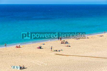 Nature: Morro Jable beach Fuerteventura island Canary Islands Spain #03211