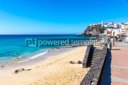 Nature: Morro Jable beach Fuerteventura island Canary Islands Spain #03212