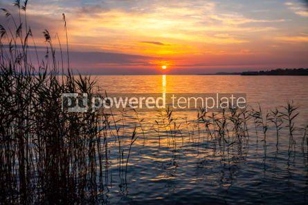 Nature: Sunrise over the Balaton lake Hungary #03221